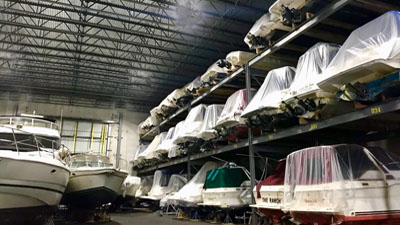 Chicago Indoor Boat Storage