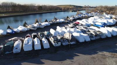 Chicago Outdoor Boat Storage